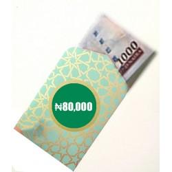 Cash Envelope ₦80,000